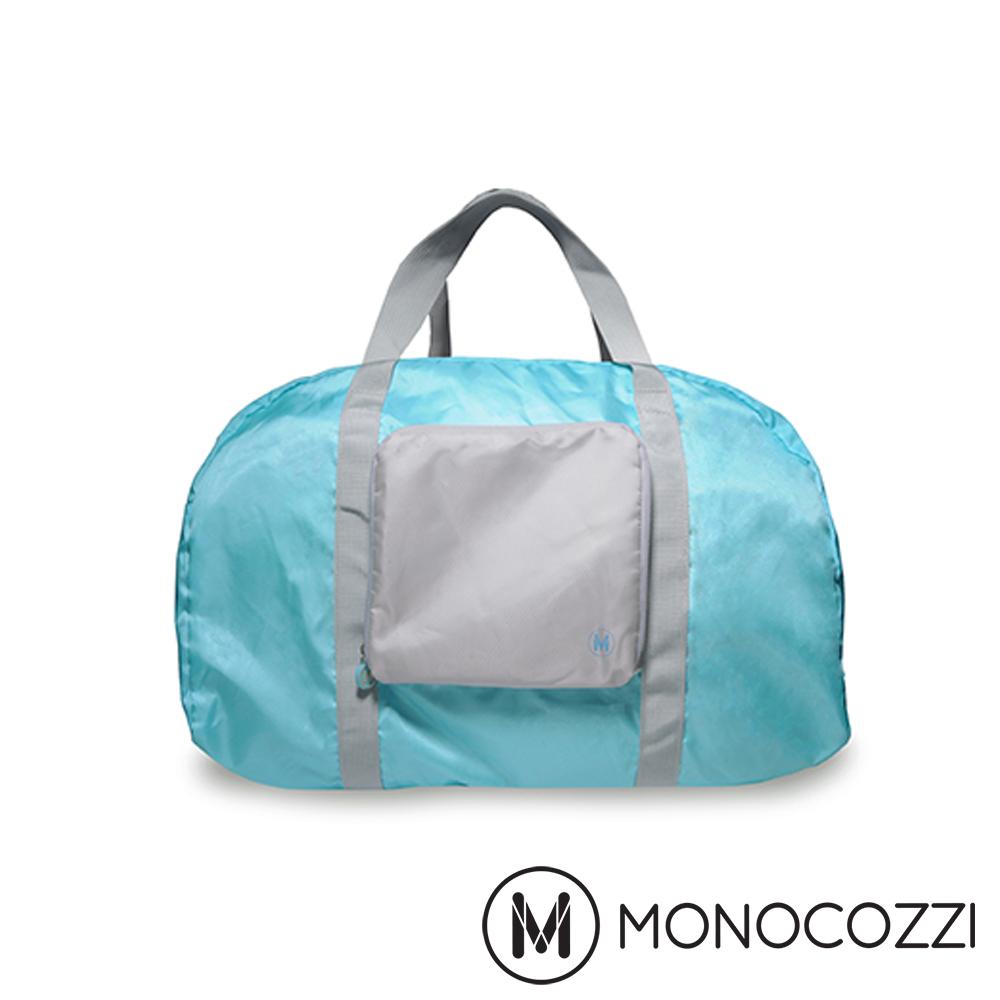 MONOCOZZI Lush Foldable Duffle Bag 折疊手提肩背包-粉藍
