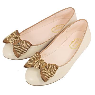 Swan天鵝童鞋-法式風格金鍊蝴蝶結公主鞋8613-卡