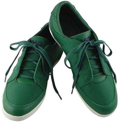 Y-3山本耀司 短筒經典三線休閒鞋-綠色【US 6.57號】