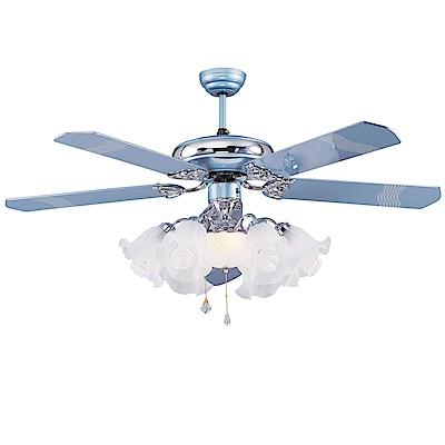 領航者 藍極光海60吋吊扇+多燈組AS43044