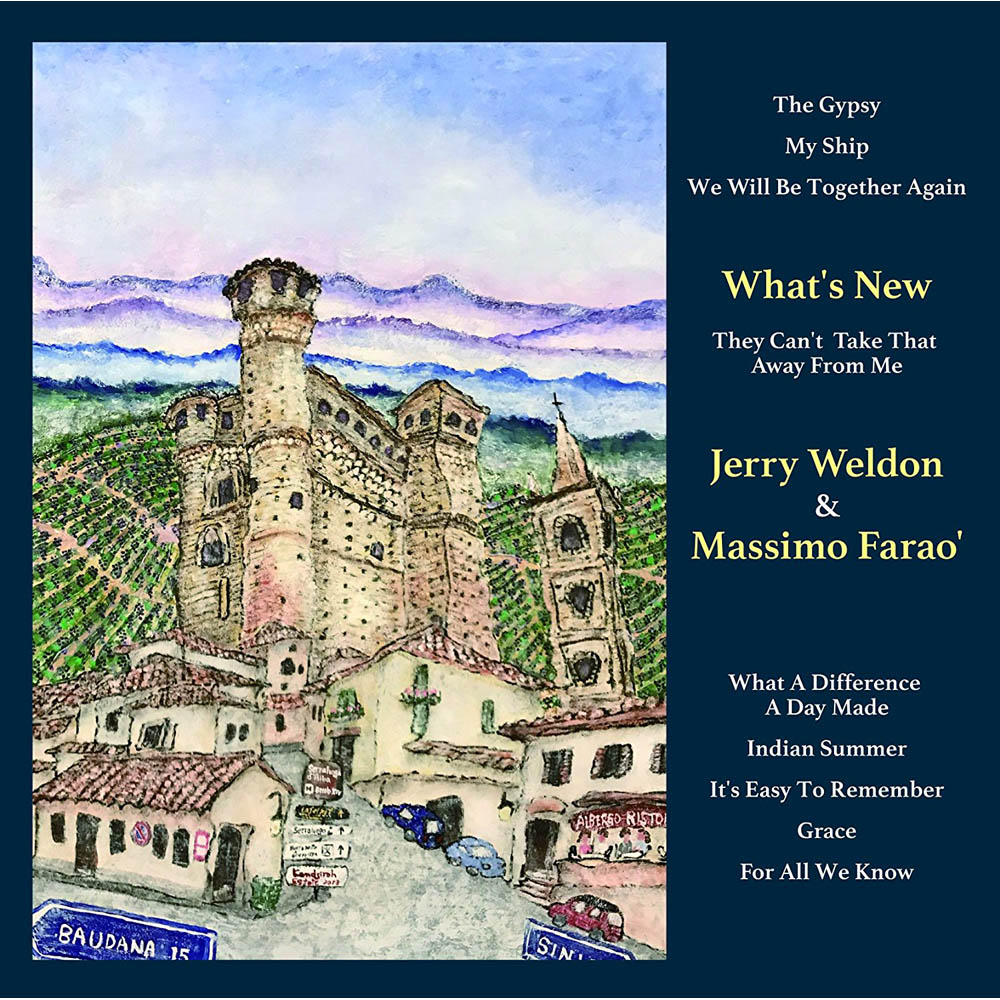 Jerry Weldon & Massimo Farao':What's New CD