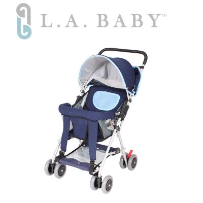 (美國 L.A. Baby) 三用手推車機車椅揹架車
