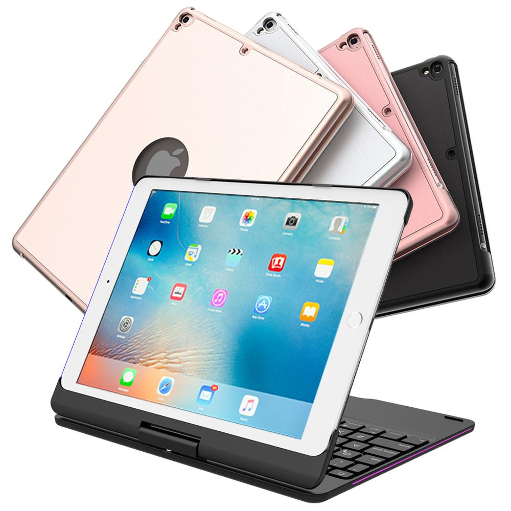 2017iPad/Pro9.7/Air2/Air專用360度鋁合金藍牙鍵盤/筆電盒