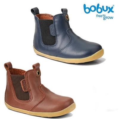 Bobux 紐西蘭 i walk 童鞋學步鞋 經典款皮革馬靴