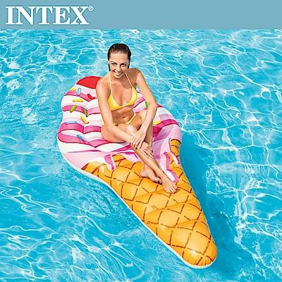 INTEX 冰淇淋浮排224x107cm(58762)