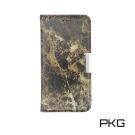 PKG SONY XZ1-Compact 側翻式皮套-精選系列-大理石紋-棕紋