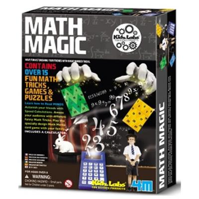 4M科學探索 數學魔術師