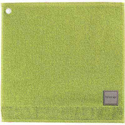 《WINKLER》50cm MARK 精梳棉毛巾(春嫩綠)