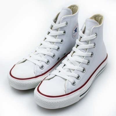 CONVERSE-U系列女休閒鞋-白