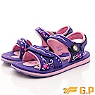GP時尚涼拖-花漾兩穿涼鞋款-EI687W-41紫(女段)