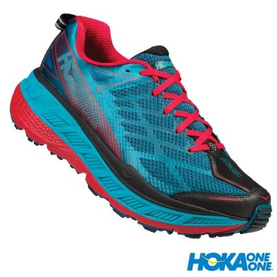 HOKA ONE ONE 全地形鞋 Stinson ATR 4 男 珊瑚藍