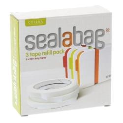 英國Sealabag 塑膠袋封口機-膠帶補充包x3
