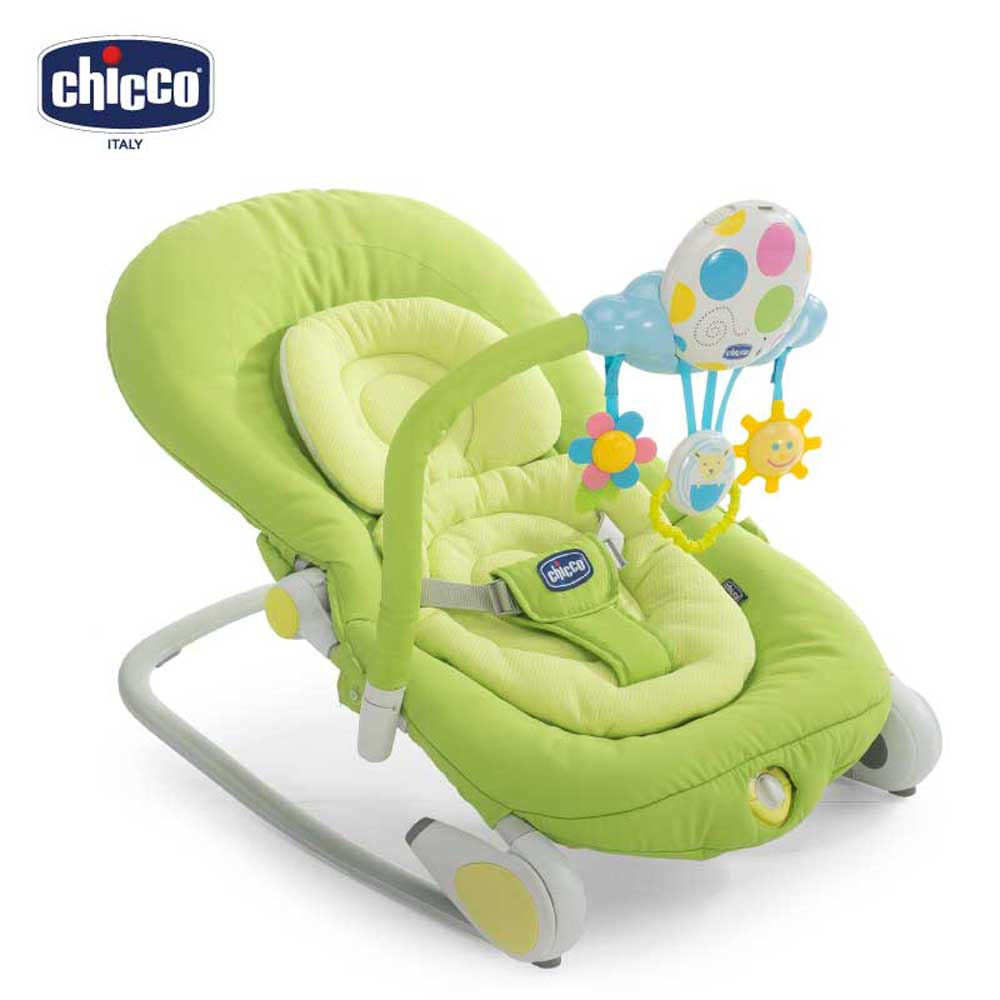 chicco-Ballon安撫搖椅-春分綠