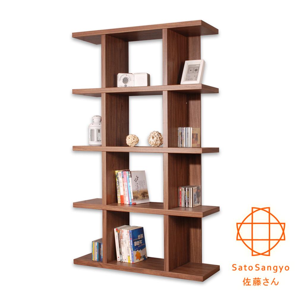 【Sato】FIZZ森隔間五層收納展示櫃‧幅90cm-DIY