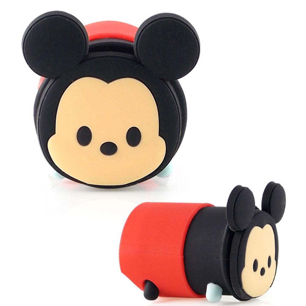 Disney TSUM TSUM可愛造型充電USB轉接頭/旅充頭