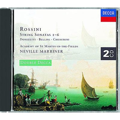 羅西尼-弦樂奏鳴曲集2CD