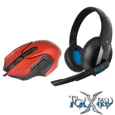FOXXRAY 極地響狐電競耳麥滑鼠組(FXR-CAM-05)