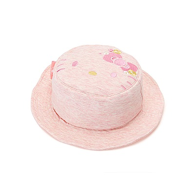 Sanrio HELLO KITTY小童用布面好折疊遮陽帽
