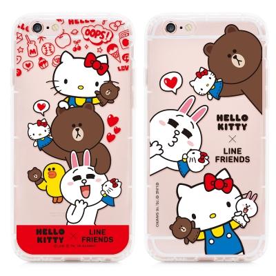 GARMMA Kitty聯名 iPhone 6/6S 空壓氣墊防摔保護殼