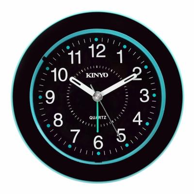 KINYO 時尚圓型靜音掃描鬧鐘(TB-716)