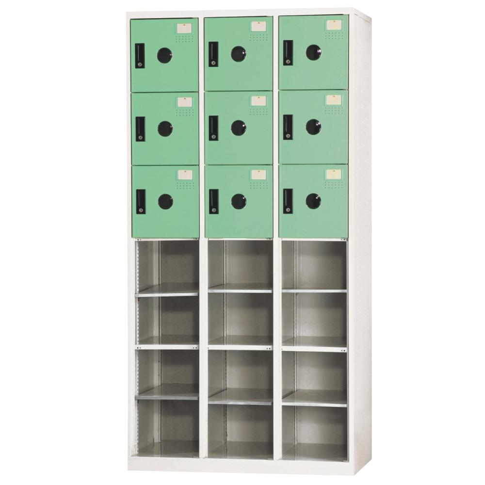 【時尚屋】DJ多用途塑鋼製辦公置物櫃10-2