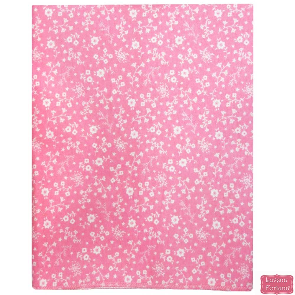 LILY & JACK 英國 粉紅滿版白花款底層防水多功能尿布墊