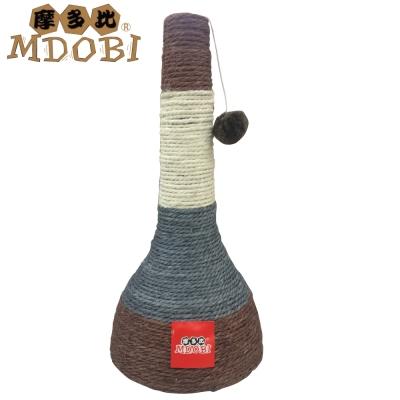 MDOBI摩多比-貓丸家 麻繩貓抓柱 酒瓶頭造型 -兩色可選