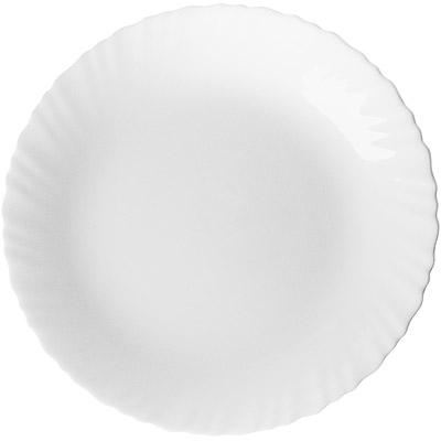 EXCELSA Wave白瓷淺餐盤 19cm