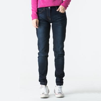 ATUNAS 歐都納 女款牛仔風格長雪褲 透氣/保暖/耐磨 A-PA1622W 黑
