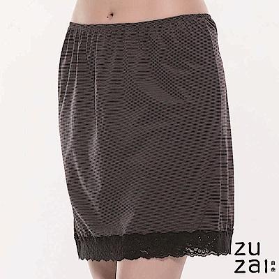 zuzai 自在絲感奇蹟襯裙-女-黑色