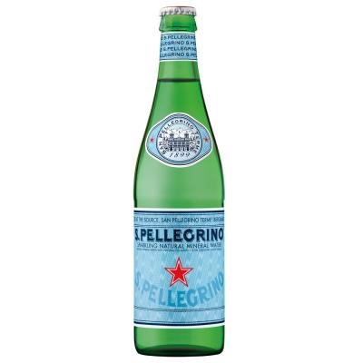 S.Pellegrino聖沛黎洛 天然氣泡礦泉水(500mlx24入)