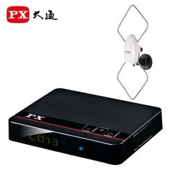 PX大通HD-8000+HDA-5000高畫質數位電視接收機+高畫質專用天線