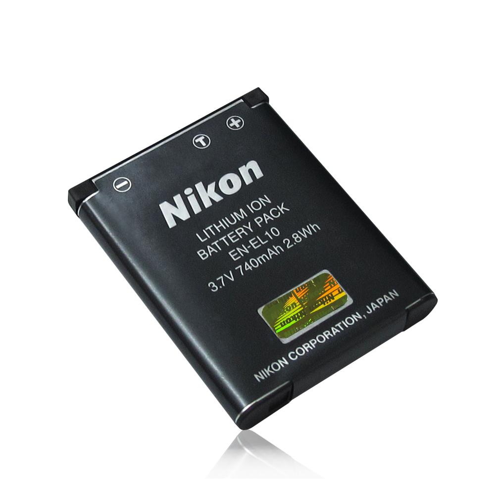 Nikon Coolpix EN-EL10/ENEL10 適用相機電池(全新密封包裝)