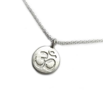 Dogeared 許願項鍊 銀色OM古印度錢幣 Om Necklace 附原廠盒