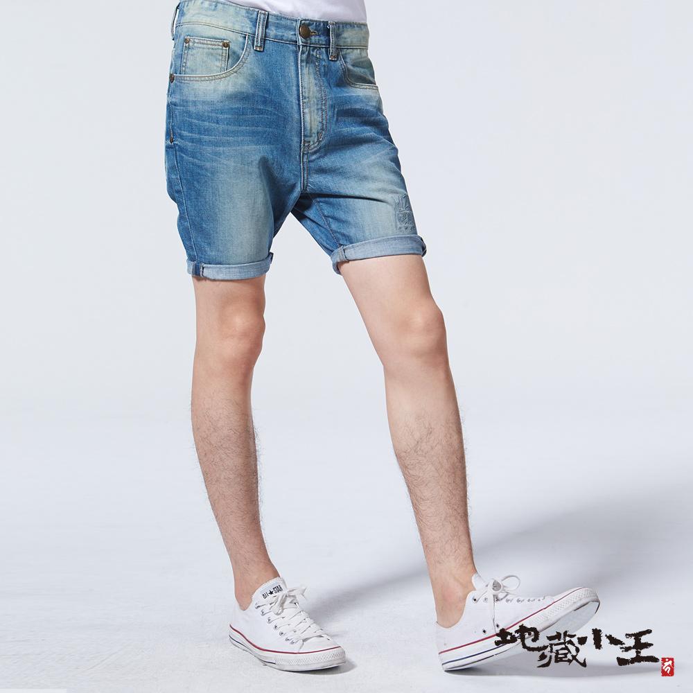 地藏小王 BLUE WAY 地藏嚇人雞短褲(牛仔藍)