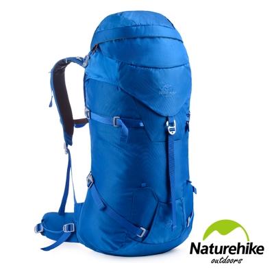 Naturehike 45+5L 行雲輕量透氣登山後背包 自助旅行包 寶藍-急