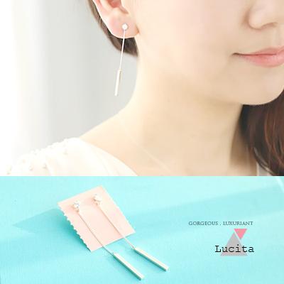 LuciTA 空運限量新品 光年之外設計款耳環