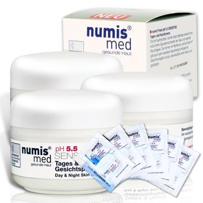 德國Numismed小樂美思 PH5.5極致修護凍齡霜50ml*3瓶(贈凍齡霜5ml*6包)