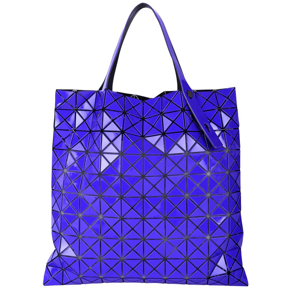 三宅一生BAO BAO ISSEY MIYAKE PRISM 靛藍色托特包(10x10)