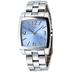 【ALFEX】個性藝術時尚腕錶(藍)