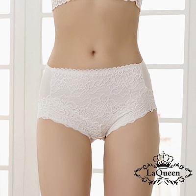 內褲  舒適輕塑蠶絲內褲-白 La Queen