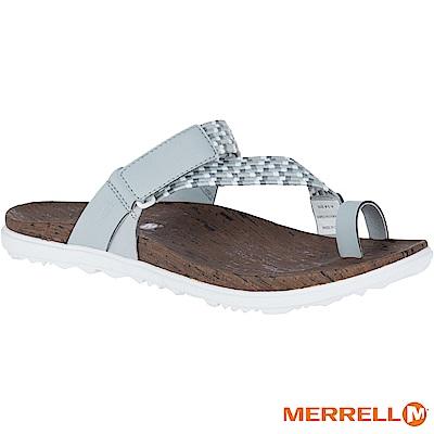 MERRELL AROUND TOWN 休閒女拖鞋-灰白(94424)