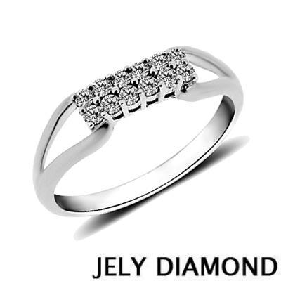 JELY 幸福滋味0.20克拉天然鑽石戒指