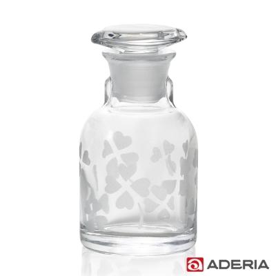 【ADERIA】日本進口三葉草玻璃醬油罐80ml