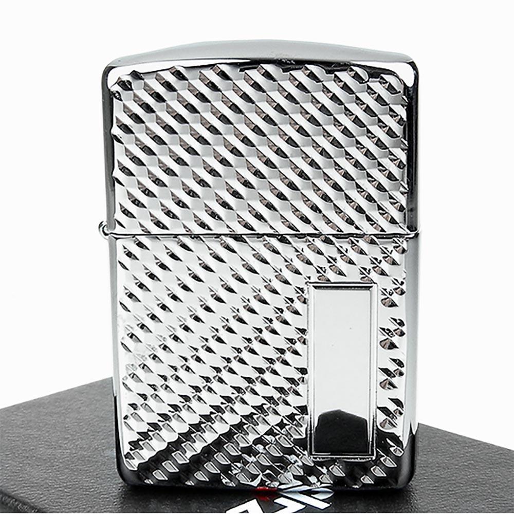 ZIPPO美系-立體圖紋切割-兩面加工打火機