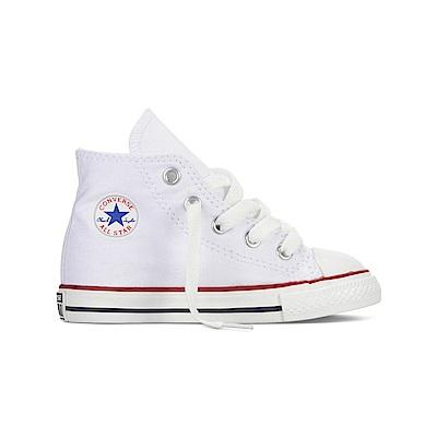 CONVERSE-All Star小童鞋7J253C-白