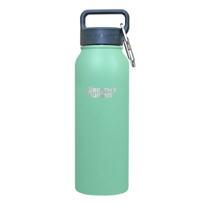 Healthy Human 寬口不鏽鋼保冷保溫瓶(621ml) - 薄荷綠