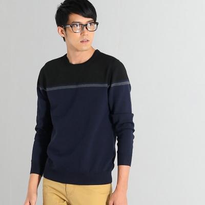 101原創 撞色細條紋針織毛衣-共3色