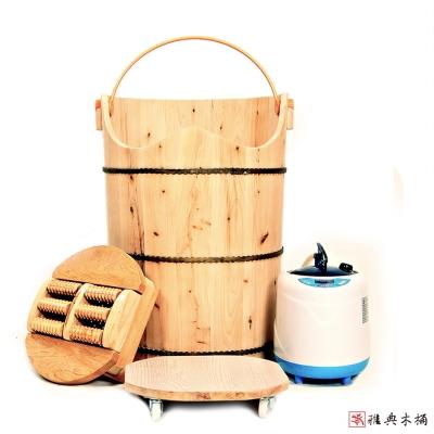 雅典木桶 養身香柏木 泡腳桶(高60CM)