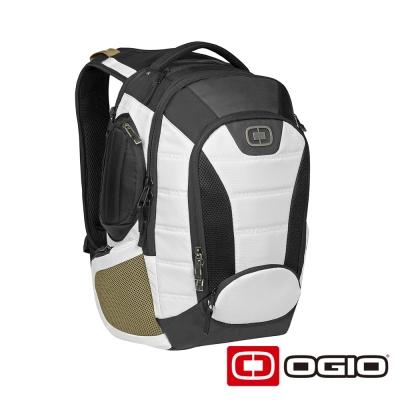 OGIO BANDIT 17 吋甲蟲電腦後背包-雪白